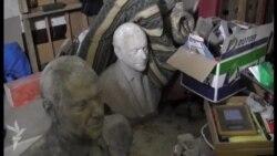 Sovetski dağıntıları heykəltəraşın evinə çatdı
