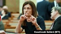 Varga Judit magyar igazságügyminiszter 2020. március 24-én.