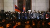 Armenia - Opposition parties hold an anti-government rally in Liberty Square, Yerevan, November 18, 2020.