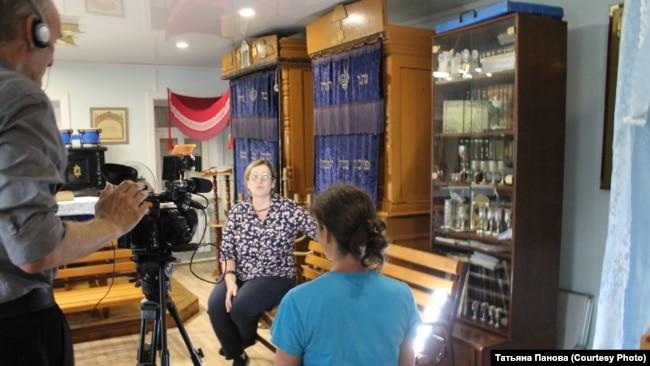 Запись интервью для проекта Oral history в Биробиджане