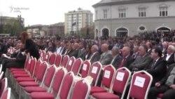 Ceremonia e inaugurimit të presidentit Thaçi