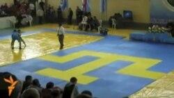 """Кырымда """"Корбан көрәшләре"""" бәйгесе"""
