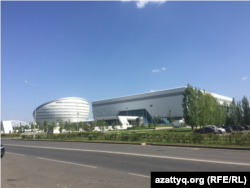 Назарбаев центр и музей первого президента в городе Нур-Султане. 31 августа 2020 года.