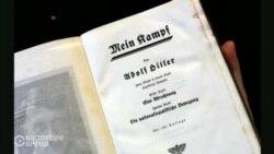 У Нямеччыне ўпершыню за 70 гадоў паступіў у продаж «Майн Кампф» (відэа)