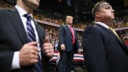 Трамп и Обама во кампања за изборите за Конгресот