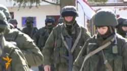 Troops, Believed To Be Russian, Surround Ukrainian Base In Crimea
