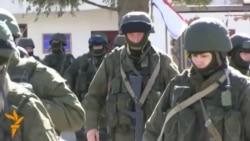 Troops, Believed To Be Russian, Surround Ukrainian Base In Crimea