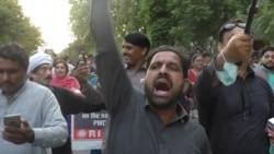 Pakistani Journalists Protest 'Draconian' Draft Media Law