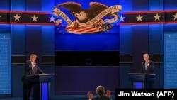 Президент США Дональд Трамп та його конкурент на цьогорічних президентських виборах Джо Байден