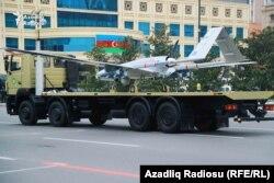 Азербайджан продемонструє на своєму параді військову техніку, зокрема турецькі безпілотники Bayraktar TB2