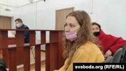 Яна Смаляга ў судзе