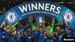ین دومین بار است که چلسی فاتح لیگ قهرمانان اروپا میشود.