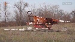 На місці Луганського аеропорту – руїни і нерозірвані міни (відео)