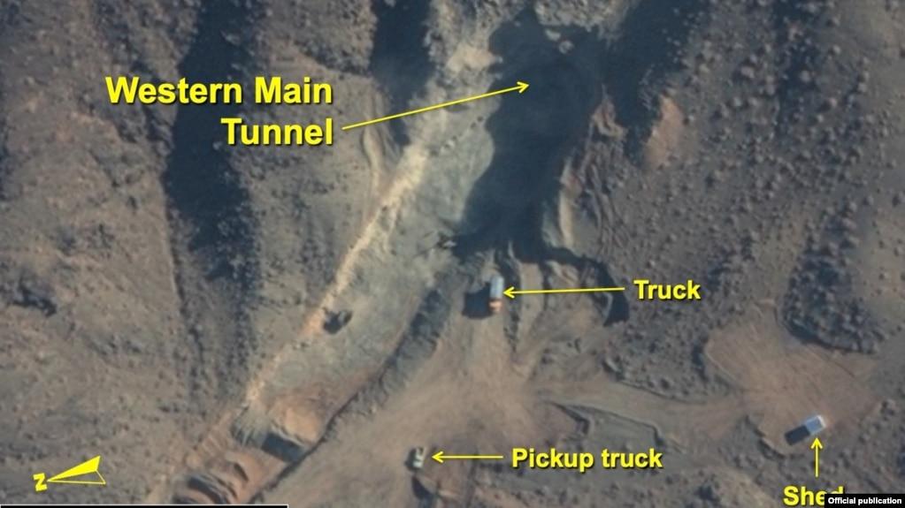 انتشار تصاویر ماهوارهای جدید از ساخت تاسیسات زیرزمینی در سایت اتمی نطنز