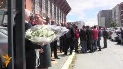 Приштина: Погреб со почести на убиените во Куманово