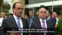 Hollande Says Islamic State Terrorists Killed Priest In Church