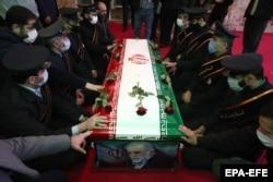 Похороны Мохсена Фахризаде в Тегеране. 30 ноября 2020 года