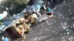 Инкассация машинаси аварияси