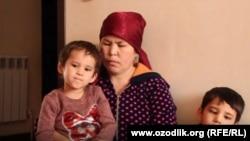 Дилором Ризакулова – мать двух несовершеннолетних детей.