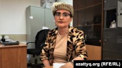 Адвокат Тұрсын Төлегенова.