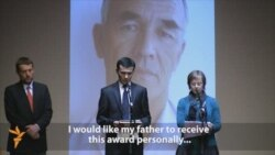 Ethnic Uzbek Activist Honored In Prague