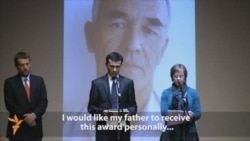 Ethnic Uzbek Activist Honored In Prague