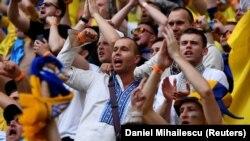 Українські вболівальники на матчі Україна – Північна Македонія