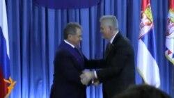 Сергій Шойгу отримав державну нагороду Сербії