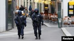 Полицейские в Вене после теракта 2 ноября 2020