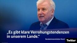 Ministrul de interne Horst Seehofer