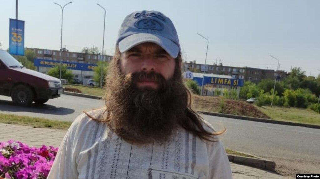 Николай Катчиев, экоактивист из поселка Бестобе