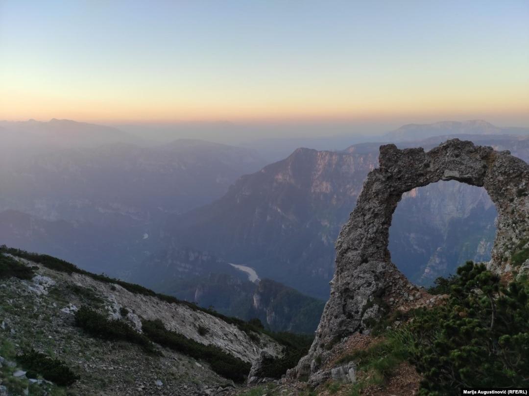 Hajdučka vrata' na Čvrsnici