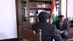 د رییس جمهور غنی سفر په هکله د هند سفیر سره مرکه