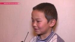 Мальчик по имени Счастье чудом выжил после падения самолета под Бишкеком