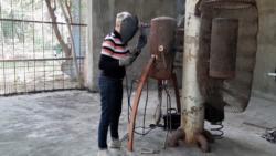 რუსთავის ტყე-პარკში გაუქმებულ ცხოველთა ვოლიერებში მხატვრები და მოქანდაკეები წელსაც შესახლდნენ
