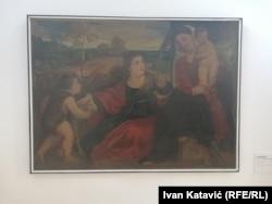 Slika Lazara Drljače, prvog školovanog slikara u BiH. Slika je nastala kao kopija slike talijanskog renesansnog slikara Tizijana. Ova slika je u Umjetničkoj galeriji BiH arhivirana pod brojem jer označuje početke likovne umjetnosti BiH.