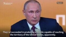 Putin Warns U.S., North Korea Against Escalating Tensions