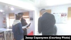 Полиция в штабе Навального в Иркутске