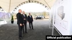 Ադրբեջանի նախագահն այցելում է Ջաբրայիլի շրջան, 4-ը հոկտեմբերի, 2021թ․