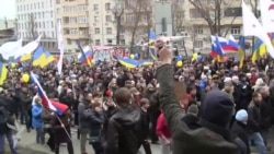 Москва. Марш мира и митинг на проспекте академика Сахарова