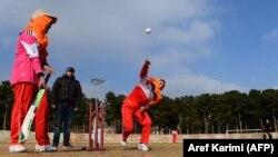 Əfqan qadınlar kriket oynayır, 2015-ci il, Herat