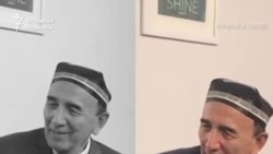 Халқ артисти Шерали Жўраев АҚШ тупроғини ўпиб, пешонасига сурди