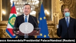 ماریو دراگی، رئیس حکومت جدید ایتالیا