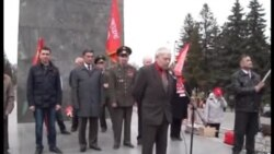 Уфадагы коммунистларның 1 май җыенында Ирек Фазылов чыгышы