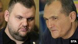 Delyan Peevski (left) and Vassil Bozhkov are among three Bulgarians targeted by economic sanctions announced by the United States on June 2.