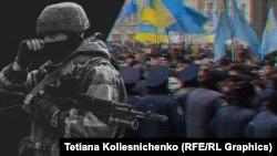 26 februarie este, în Ucraina, Ziua rezistenţei Crimeei împotriva ocupaţiei ruse.