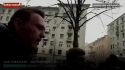 Russia's Navalny Detained Amid Election Protests