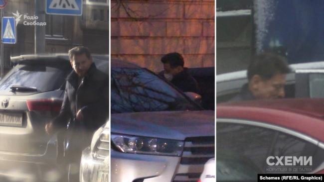 «Схеми» неодноразово фіксували, як нардеп Волинець сідав у один і той же автомобіль: часом за кермом він був сам, а часом – їздив з водієм