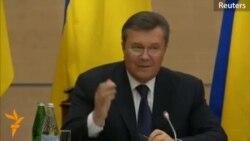 Фрагмент выступления Виктора Януковича