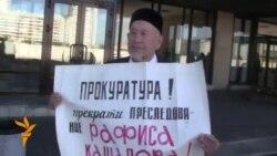 Чаллыда Рәфис Кашаповны яклап ялгыз пикетлар узды